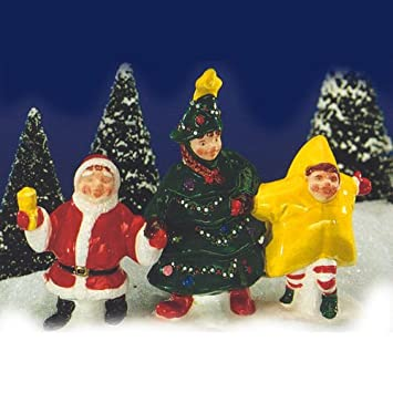 Amazon.com : Dept 56 Snow Village Were Going to a Christmas Pageant ...