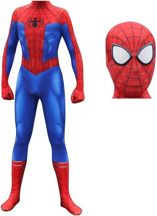 ERTSDFXA Spiderman Disfraces Adulto Disfraz De Vengadores Carnaval ...