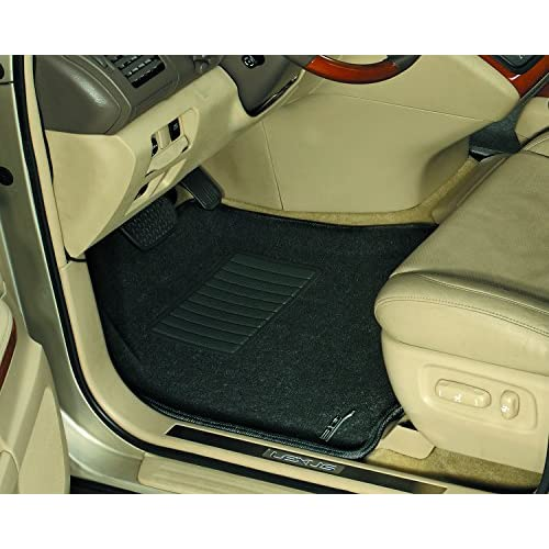 2002 GGBAILEY D4416A-S1A-BLK/_BR Custom Fit Car Mats for 2000 Passenger /& Rear Floor 2004 Dodge Dakota Quad Cab Black with Red Edging Driver 2003 2001