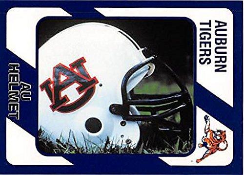 AU Helmet Football Card (Auburn Tigers) 1989 Collegiate Collection - Helmet Football 1989