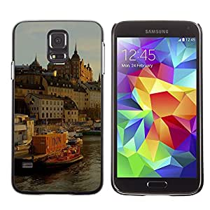 Hot Style Cell Phone PC Hard Case Cover // M00103382 places sweden stockholm // Samsung Galaxy S5 i9600