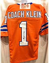 Henry Winkler Coach Klien The Water Boy The Movie Signed Autograph Custom Jersey  JSA Witnessed Certified 395baaee5