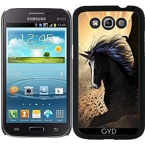 Funda para Samsung Galaxy Win GT-I8552 - El Unicornio Oscuro by nicky2342