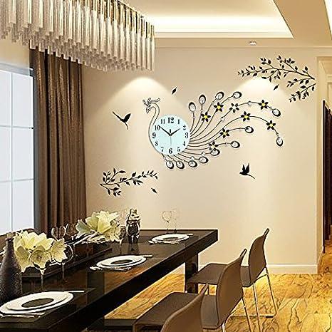 La decorazione interna orologio da parete colorato moderno ...