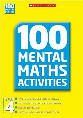 Book Year 4 (100 Mental Maths Activities) by Nield, Joan, Fletcher, Lesley (2010)