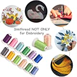 Simthread 63 Brother Colors Polyester Embroidery