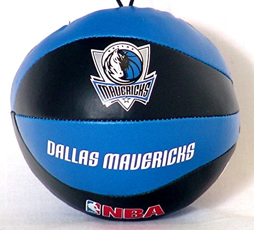 "NBA 4"" Mini Vinyl Basketball Toy Soft Squeeze Stress Ball (Dallas Mavericks)"