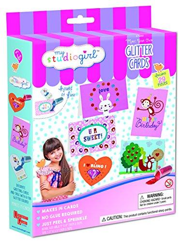 My Studio Girl Make-Your-Own Glitter Cards -