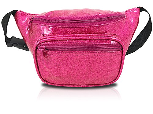 Shiny Glittery Metallic Fanny Pack (Sparkle ()
