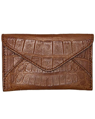 Men's Lucchese Business Card Crocodile R8013 Case Cognac 2510 Cognac 1BwB6ZqWUd