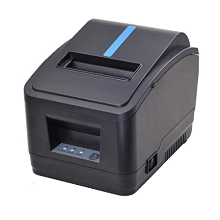 Receipt Printer, 80MM USB LAN Ethernet Pos Thermal Kitchen Printer, MUNBYN Windows Mac Printer with Auto Cutter Support DHCP Auto Set IP Address