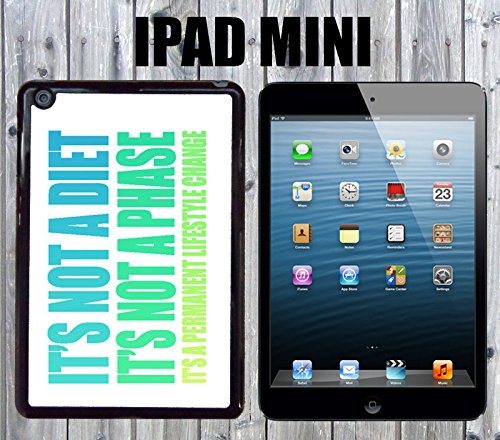 Lifestyle Change Motivation Custom made Case/Cover/skin FOR iPad Mini-Black- Plastic Snap On Case (Ship From CA)