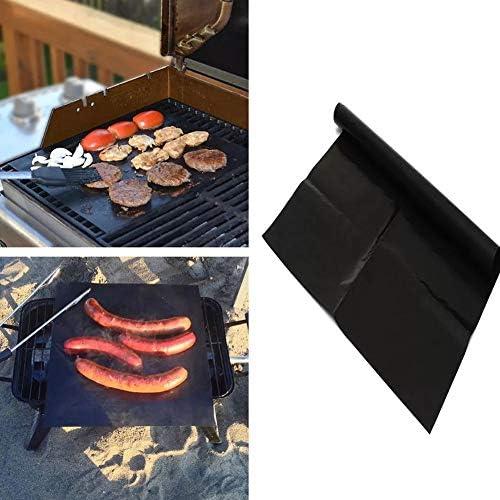 Onetek Grille de Barbecue Anti-adhésive réutilisable pour Barbecue 1