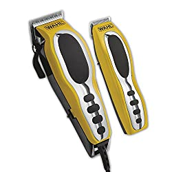 Wahl Groom Pro Total Body Grooming Kit, High-carbon Steel Blades, Yellow & Black, #79520-3101p