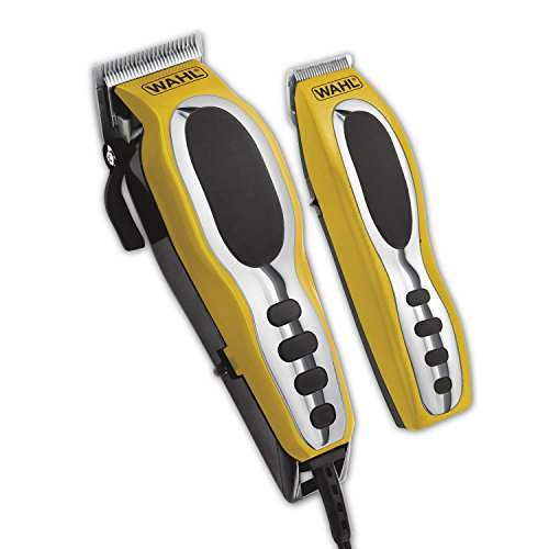 Wahl Groom Pro Total Body Grooming Kit, High-Carbon Steel Blades, Hair Clippers for Full-Body Hair Trimmer Use #79520-3101P ()