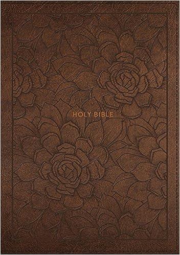 NKJV, Single-Column Reference Bible, Leathersoft, Brown