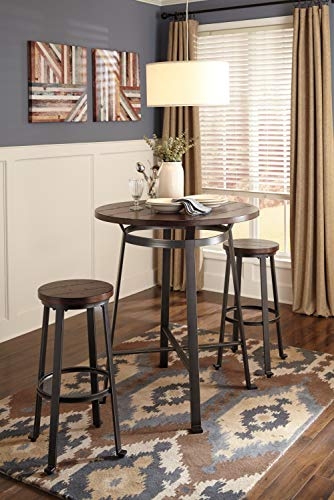 home, kitchen, furniture, game, recreation room furniture,  home bar furniture 11 image Signature Design by Ashley - Challiman Bar Stool - Pub in USA