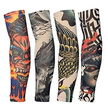 Tatuaje Brazo de Flor Grande Tatuaje sin Costuras Mangas de ...