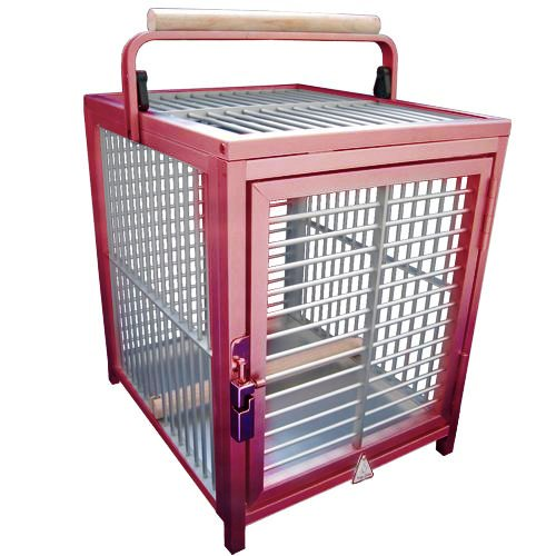 King's Cages ATT 1214 ALUMINUM PARROT Bird Cage pet travel carriers cages toy toys King's Cages