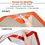 MMmat Silicone Baking Mats - Best German Silicone - Set of 2