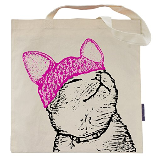 Cat Tote Bag (Pussy Cat in a Pussy Hat)