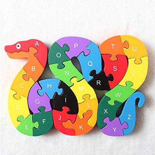 Mercurry Snake Z Puzzle Educational
