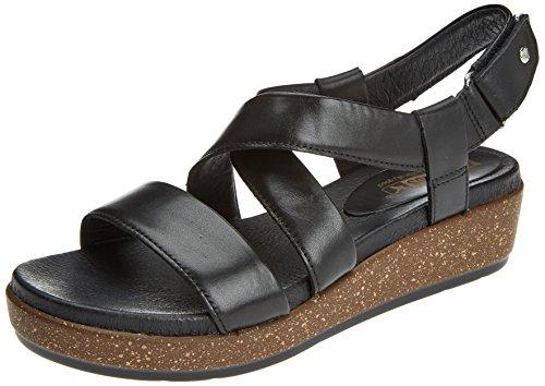 Pikolinos Vrouwen Mykonos W1g Open Sandalen Zwart (black)