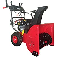 PowerSmart 24 in. 2-Stage Electric Start Gas Snow Blower with Power Assist