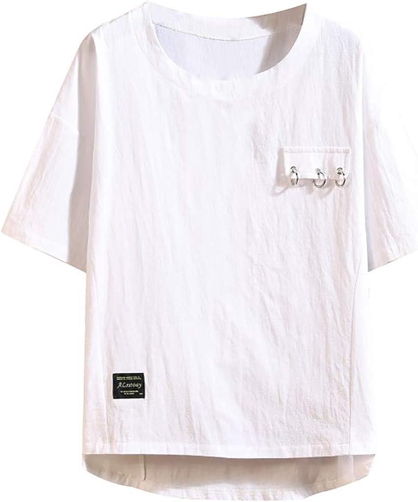 Sylar Camiseta Suelto para Hombre Camisetas Hombre Manga Corta Camisetas Hombre Originales Cuello Redondo Camiseta Blusa Tops De Mezcla De Algodón: Amazon.es: Ropa y accesorios