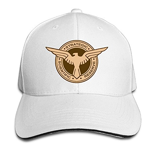 6511d42b251 MARC Custom Agent Carter Unisex-Adult Hip Hop Hats Caps White