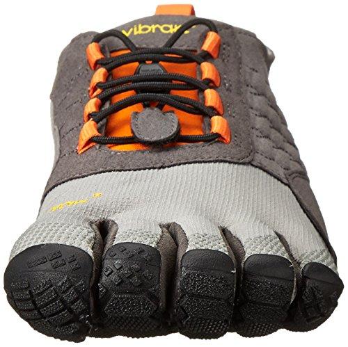 Vibram FiveFingers Men's Trek Ascent Multisport Outdoor Shoes, Black Grey (Grey/Black/Orange)