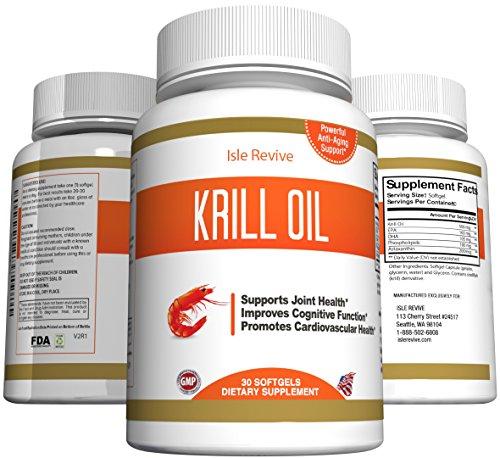 krill oil omega 3 supplement