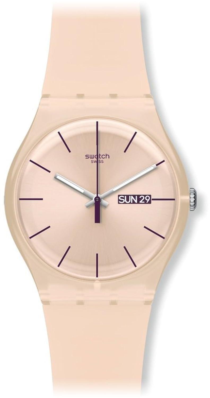 [スウォッチ]SWATCH 腕時計 NEW GENT(ニュージェント) ROSE REBEL(ローズレーベル) SUOT700 【正規輸入品】 B005IWAXRU