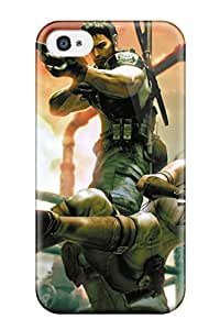 Perfect Resident Evil Case Cover Skin For Iphone 4/4s Phone Case