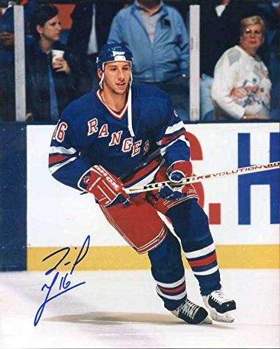 daniel-goneau-autographed-original-signed-8x10-action-photo-w-the-new-york-rangers