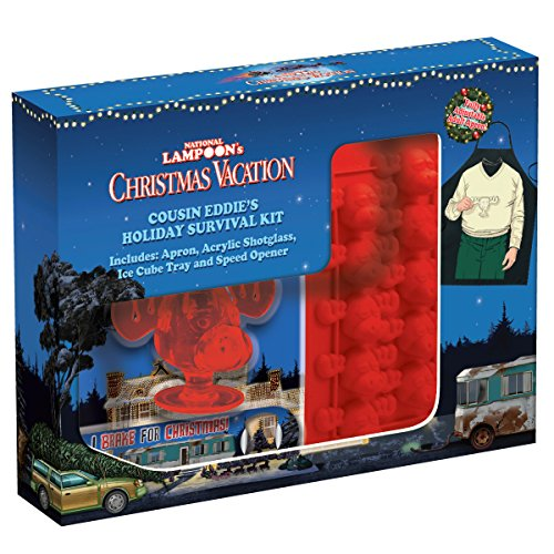 ICUP 15557 National Lampoon's Christmas Vacation Cousin Eddie's Holiday Survival Kit, Multicolor]()