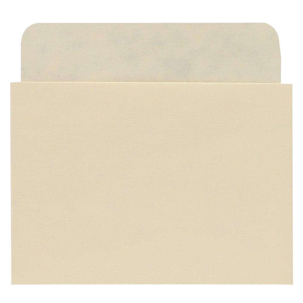 Plain Back Book Pockets - Economy Extra Low Back - No Date Grid - 3-1/4'' H x 3-1/2'' W x 2-1/2'' D - 500pk