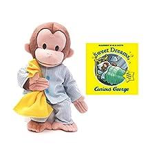 Curious George Pajamas and Sweet Dreams Book Set