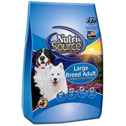 TUFFY'S PET FOOD 131105 Nutrisource Large Breed Dog Chicken/Rice Food, 33-Pound