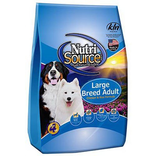 Tuffy's Pet Food Nutrisource Large Breed Dog Chicken/Rice Food, 30 lbs by Tuffy's Pet Food