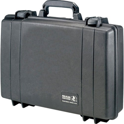 Pelican 1490 NF Black Case With No Foam ()