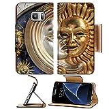 Liili Premium Samsung Galaxy S7 Flip Pu Leather Wallet Case IMAGE ID: 4351454 Venetian Mask composition