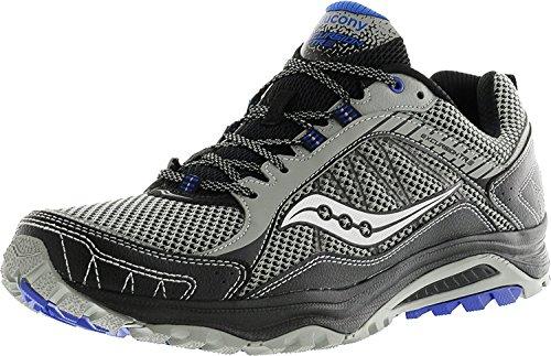 Saucony Mens Excursion TR9 Trail Running Shoe, Gris/Negro, 46.5 D(M) EU/11 D(M) UK