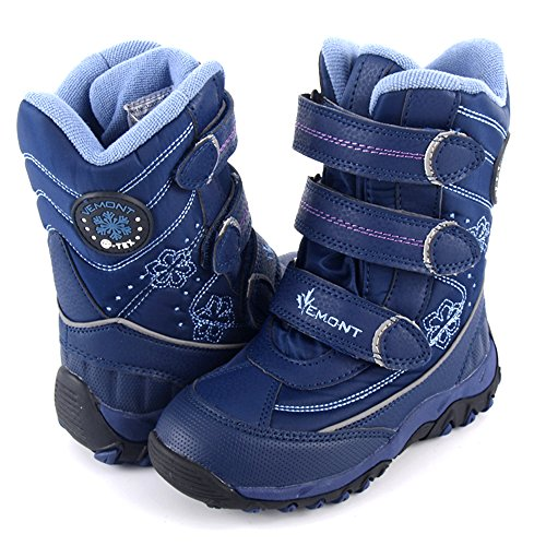 Schneeschuhe für Mädchen Klettband Vemont (2073) (30, Violett)
