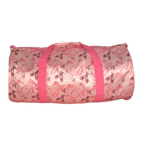 Girl's Ballet Ballerina Duffle Bag Pink Lightweight Dance Overnight (Ballet Bags For Teens)