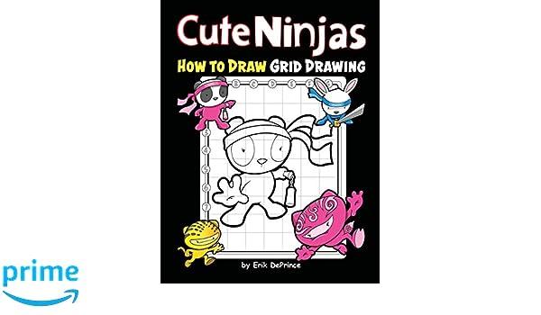 Cute Ninjas How To Draw Grid Drawing: Cute Ninjas Grid ...