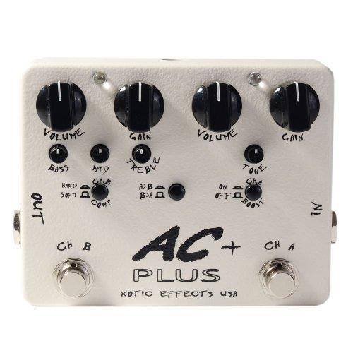 いいスタイル Xotic Effects AC Plus Effects 2-Channel Overdrive Guitar Effects AC Guitar Pedal [並行輸入品] B076YY1N6Z, NARUMIYA ONLINE(ナルミヤ):a311e10f --- a0267596.xsph.ru