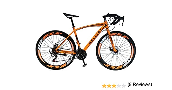 Helliot Bikes Sport 03 Bicicleta de Carretera Urbana, Adultos Unisex, Naranja, M-L: Amazon.es: Deportes y aire libre
