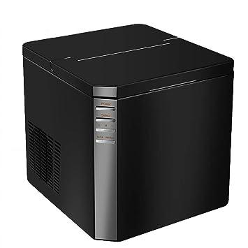 Lxn Encimera,máquina manual portátil para fabricar hielo,55 libras de hielo en 24