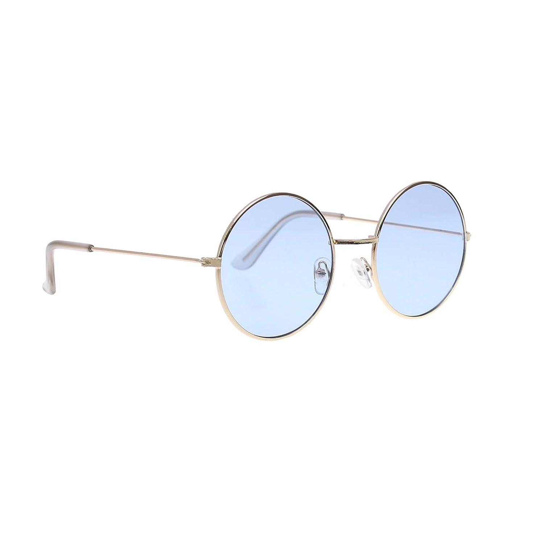 f586867ec7 Magic Show Gafas de Sol Estilo Circle Estilo John Lennon Estilo Hippie de  los años 60 - Gafas Favors, Accesorio para Disfraces y Fiesta - Paquete de  3 (Rosa ...